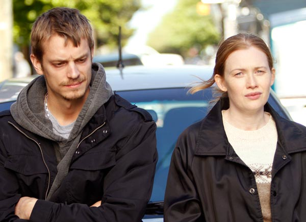 AMC The Killing TV Show Mireille Enos Joel Kinnaman Credit:Chris Large