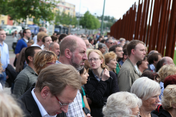 Berlin Wall 50th Anniversary. Photo: Jennifer Martin