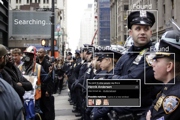 NYPD Police Officers and Occupy Wall Street Protestors Photo: Timothy Krause